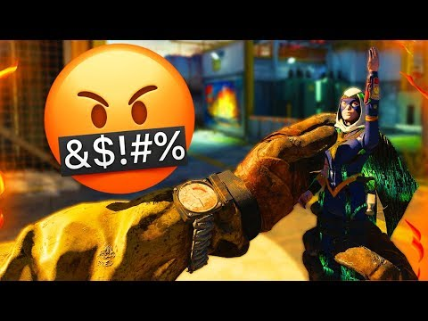 THE ACTION FIGURE MAKES PEOPLE ANGRY IN BLACK OPS 4 !!