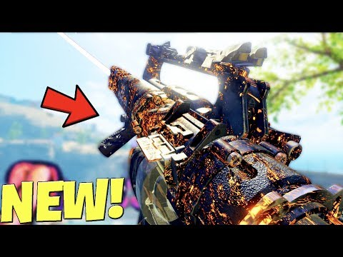 the NEW DLC GUN in BLACK OPS 4 is..