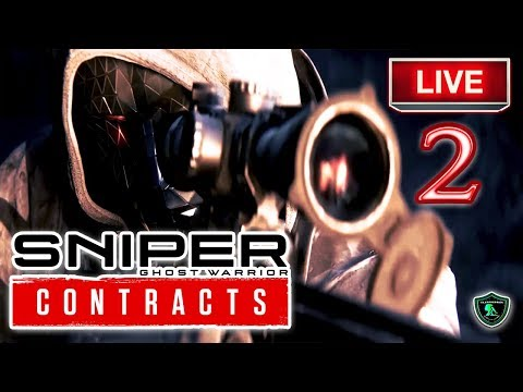 Sniper Ghost Warrior Contracts Gamplay Part 2 | CI Games 🔴 LIVE 2019