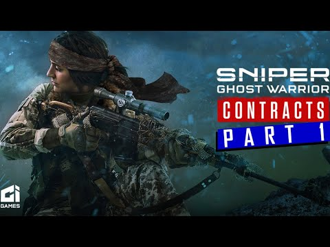 Sniper Ghost Warrior Contracts | CI Games | Bajkit proving ground | part 1| gameplay