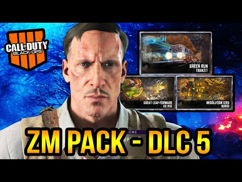 Black Ops 4 Zombies – DLC 5 Zombies Chronicles 2 Update!