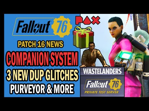 Fallout 76 News – 13 THINGS You Should Know! – Ally System, 3 New Dup Glitches, PAX East & More