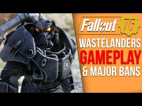Fallout 76 News – Wastelanders Gameplay Soon, Major Ban Wave, New Update, Exploits Response