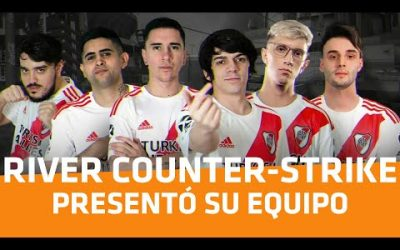 River presentó su equipo de Counter-Strike: Global Offensive – Player One