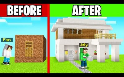 We RENOVATED A FANS HOUSE In MINECRAFT!