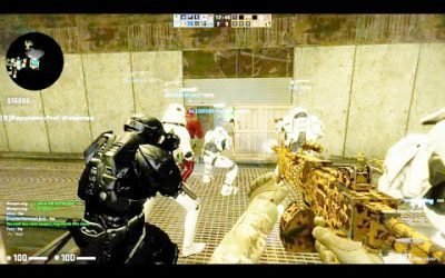 Counter Strike Global Offensive – Zombie Escape mod online gameplay on ze_portal_story map