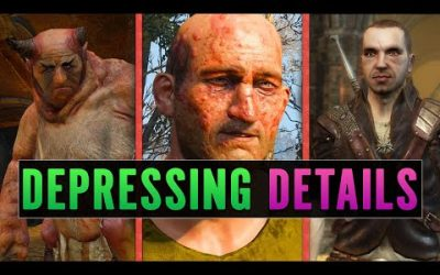 5 DEPRESSING Details You Missed In The Witcher 3: Wild Hunt