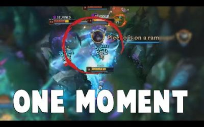 How to Single-Handedly Win Game at League of Legends | Funny LoL Series #621