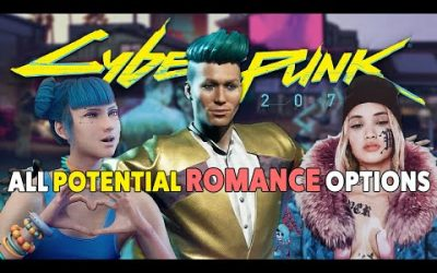 Cyberpunk 2077  – All Potential Romance Options