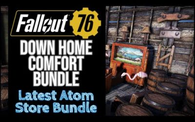 Fallout 76 – Down Home Comfort Bundle – Weapon Display Issues