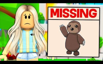 I Lost Poke's SLOTH.. I Had To Find Him! (Roblox)