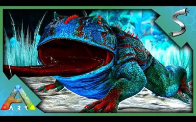 TAMING A GLOW IN THE DARK FROG! – ARK Survival Evolved [E12]