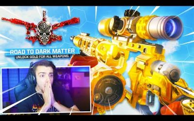 the GOLDEN SNIPER made them ANGRY in Black Ops 4…😂 (Dark Matter Camo)