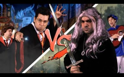 HARRY POTTER vs. THE WITCHER ♫