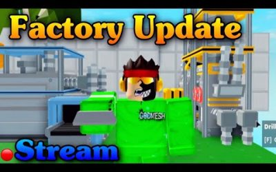 *NEW* FACTORY UPDATE – Live stream | Roblox Islands