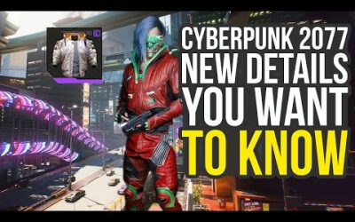 Cyberpunk 2077 News & Details About New Footage From Night City Wire (Cyberpunk 2077 Gameplay)
