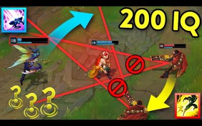 When LOL Players Get CREATIVE… 200 IQ OUTPLAYS MONTAGE (League of Legends)