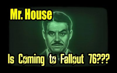 Mr. House in Fallout 76? How we could get New Vegas 2