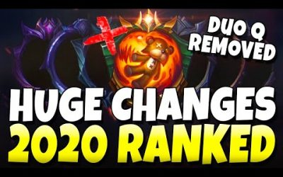 HUGE CHANGES: Duo Q REMOVED + Big Season 11 Ranked Changes – League of Legends
