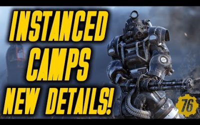 NEW DETAILS on Fallout 76 INSTANCED Camp Shelters!