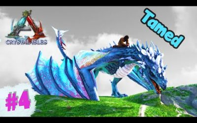 #4 I Tamed 🐲 Ice Wyvern Dragon | Crystal Isles | ARK Survival Evolved | in Hindi
