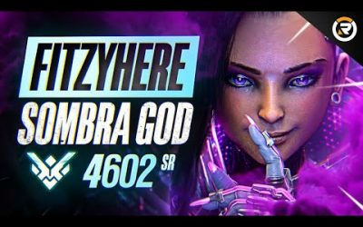 BEST OF FITZYHERE – SOMBRA 900IQ GOD | Overwatch Fitzyhere Sombra God Montage & Facts