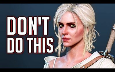 Witcher 3: What Happens if Ciri Goes to the Brothel?
