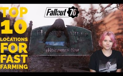 TOP 10 locations to farm after patch 22. Fallout 76 One Wasteland