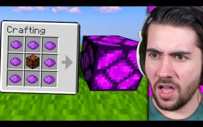 Testing Rare Minecraft Items You Have NEVER Seen