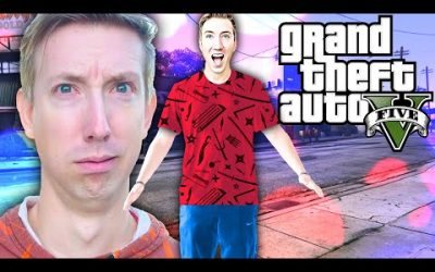 My Life is GTA 5 for 24 Hours – CWC & Spy Ninjas Playing Grand Theft Auto in Real Life vs Hackers