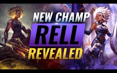 NEW CHAMPION RELL: ALL ABILITIES REVEALED – League of Legends Season 11