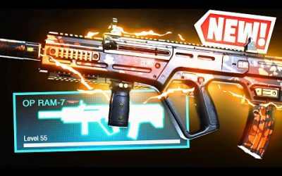 the NEW RAM-7 in WARZONE! 😍 CHANGE YOUR CLASS NOW! (Modern Warfare Warzone)