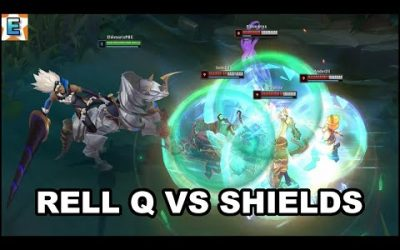 Rell Q vs Shields Interactions (Shieldbreaker) – New Anti Tank Support – League of Legends