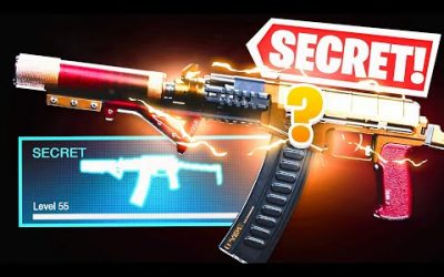 this SECRET SMG is NOW BROKEN! 🤯 MAKE THIS NOW! (Modern Warfare Warzone)