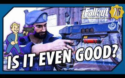 Fallout 76 – Should You Buy the RARE Crusader Pistol? Let's Test… (Minerva Sale)