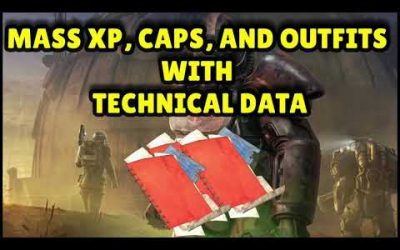 FALLOUT 76 | MASS XP, CAPS, AND OUTFITS WITH TECHNICAL DATA